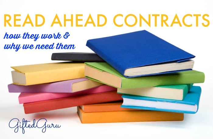 read ahead contracts
