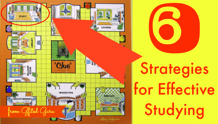 6 Strategies for Effective Studying