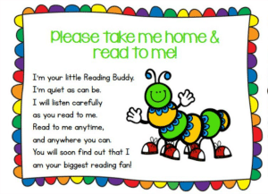Reading Buddy tag - Gifted Guru free printable