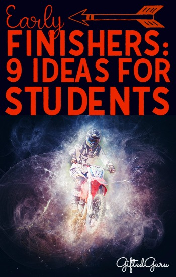 Early Finishers 9 Ideas for Students