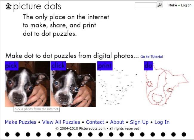 picture dots screenshot
