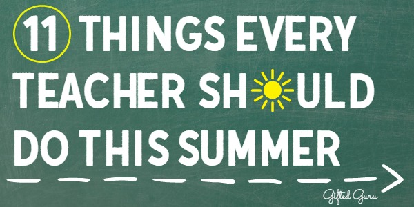 I'm sharing 11 things every teacher should do this summer to help it be a recharge, refresh, and also effective preparation for the year to come.