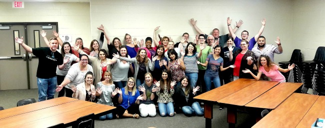 best professional development in the history of the world - picture of group