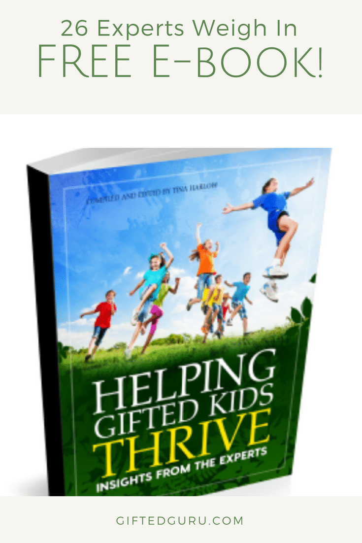How to help your gifted child | Free ebook for parents of the Gifted | Gifted Guru