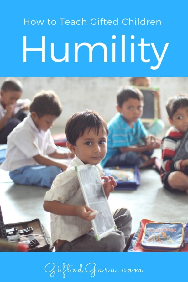 How to Teach Gifted Children Humility - children in classroom