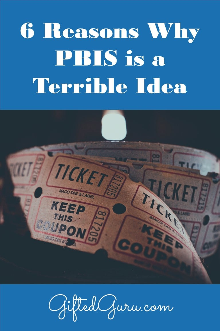 Raffle tickets - PBIS is a terrible idea
