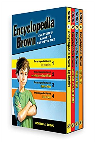 cover of Encyclopedia Brown books