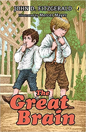 picture of cover of the Great Brain book