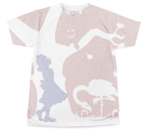 picture of Litograph Alice in Wonderland shirt