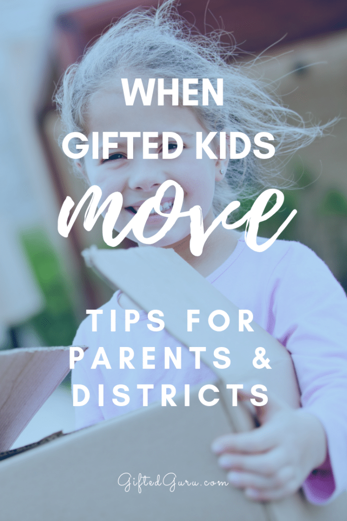 picture of child carring moving box cover image of article when gifted kids move