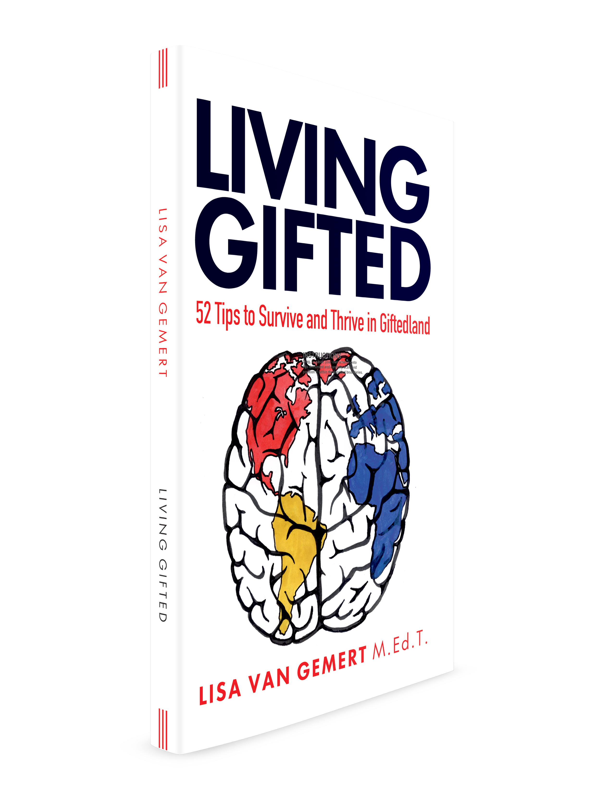 cover photo of book Living Gifted