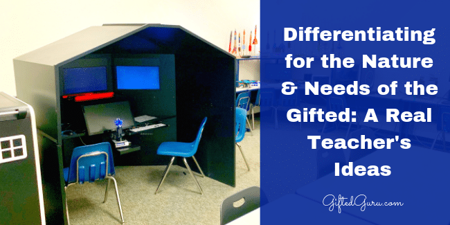 differentiating for the nature and needs of the gifted featured image