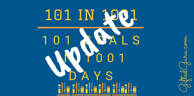 featured image of article on 101 goals in 1001 days update