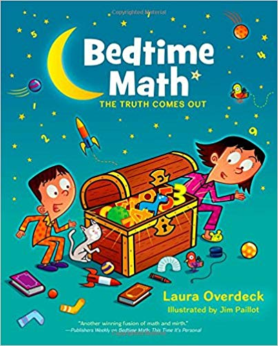 cover of Bedtime Math book