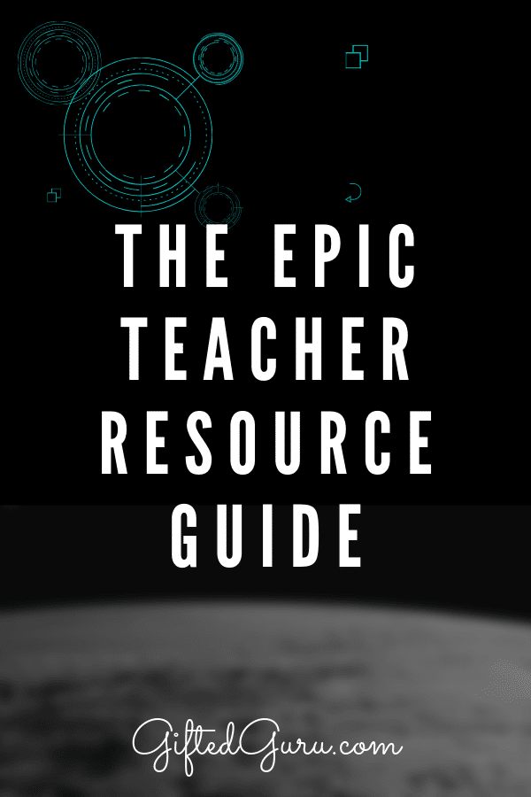 cover image for Epic Teacher resource guide