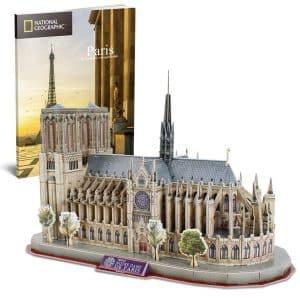 3d puzzle of Notre Dame
