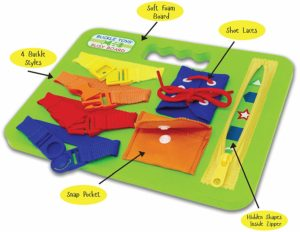 buckle board toy