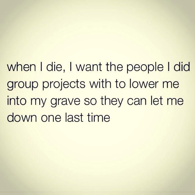 meme of when I die quote