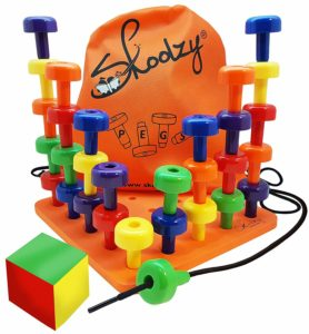 pegboard toy