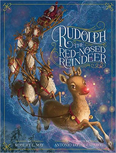 cover of book Rudolph the Red-nosed Reindeer