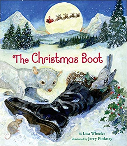cover of book The Christmas Boot