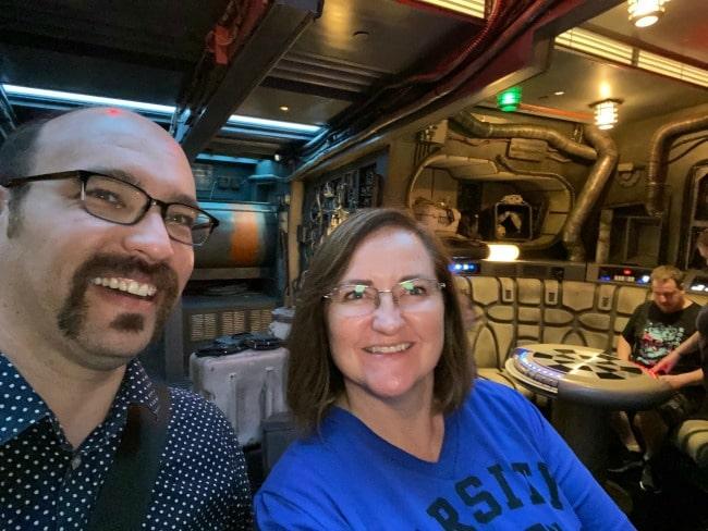 photo of Ian Byrd and Lisa Van Gemert