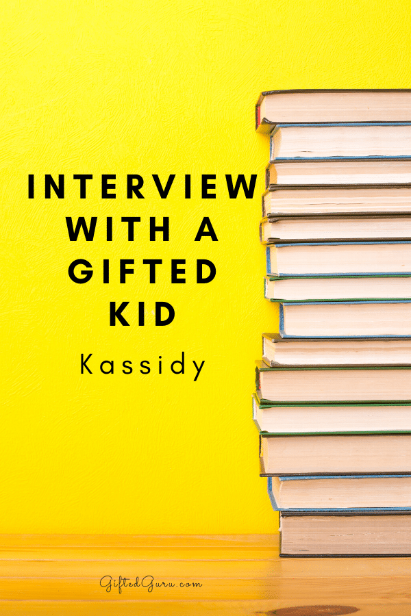"""books with title """"Interview with a gifted kid: kassidy"""""""