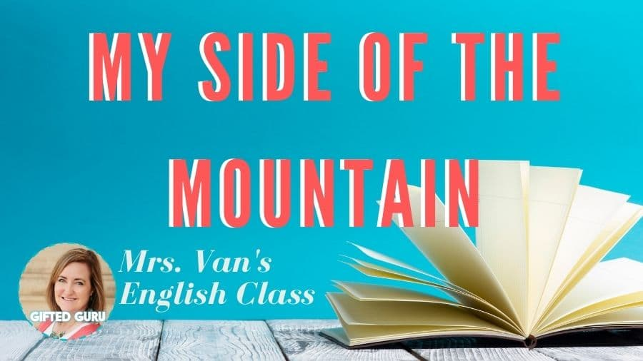 open book with title my side of the mountain