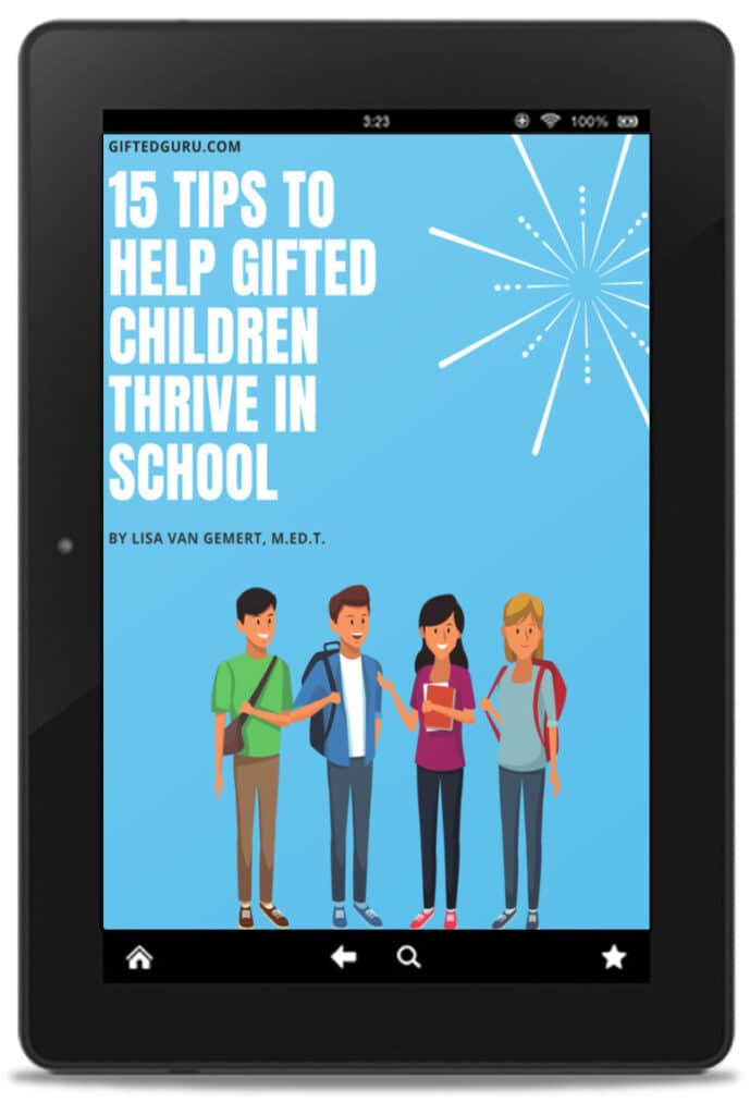 book cover with students on blue background in iPad